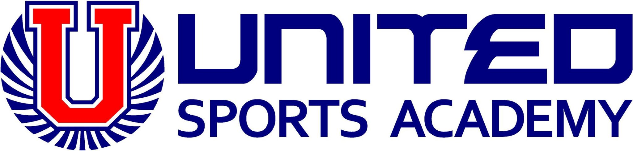 united sports academy logo horizontal